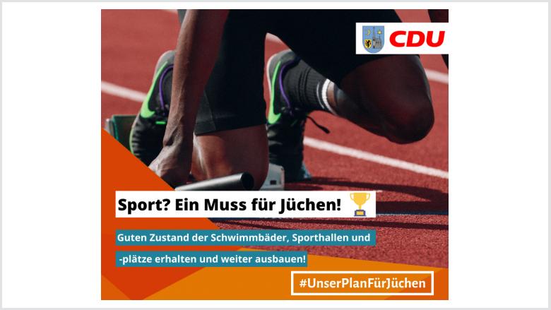 Wahlprogramm - Sport